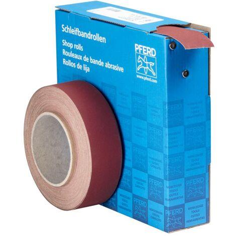 Rouleau de papier abrasif PFERD 45016440 Grain num 400 (L x l) 25 m x 38 mm 25 m