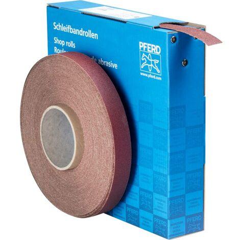 Rouleau de papier abrasif PFERD SBR 25 A 100 45016010 Grain num 100 (L x l) 50 m x 25 mm 1 pc(s)