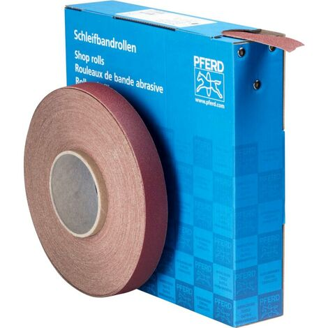 Rouleau de papier abrasif PFERD SBR 25 A 120 45016012 Grain num 120 (L x l) 50 m x 25 mm 1 pc(s)