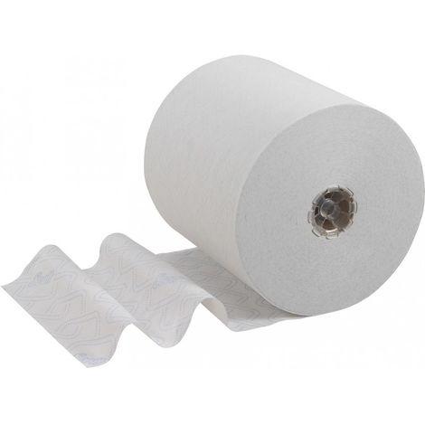 Rouleau de serviette SCOTT blanc 250m x 19,8cm (Par 6)