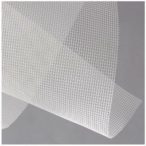Rouleau de toile fibre de verre L1m x 30 mètres blanc - Blanc