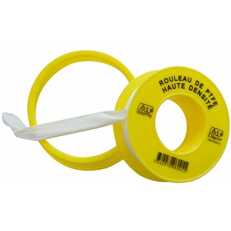 Rouleau d'étanchéité téflon® largeur 12 mm NOYON & THIEBAULT - L 12 mètres - 107-A