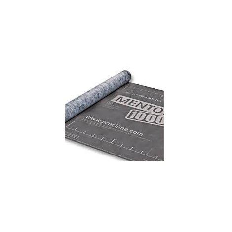 Rouleau écran de sous-toiture tripe couche léger SOLITEX MENTO 1000 SD= 0,05 M 1,5MX50M - rouleau(x) de 75m²