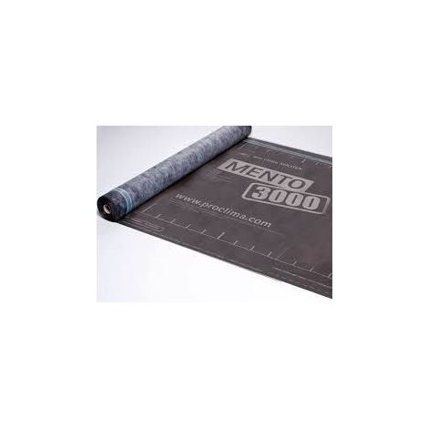 Rouleau écran de sous-toiture tripe couche SOLITEX MENTO 3000 SD=0,05M 1,5MX50M - rouleau(x) de 75m²