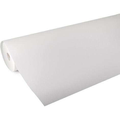 Rouleau fibre de verre blanc à peindre 50m x 1m pré-traité 75g/m²