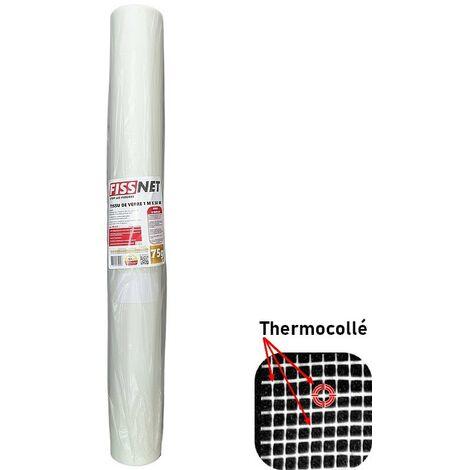 Rouleau Fiss Net 75 PRO ultra résistant en fibre de verre thermocollé 1 x 50 m