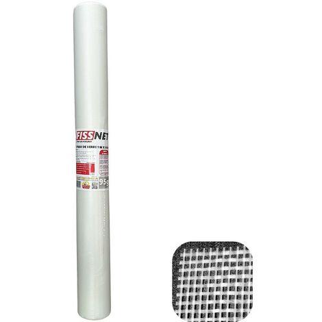 Rouleau Fiss Net 95 tissu en fibre de verre professionnel de 1 x 50 m