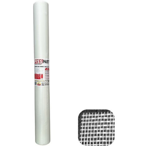 Rouleau Fiss Net 95 tissu en fibre de verre professionnel de 50 m²