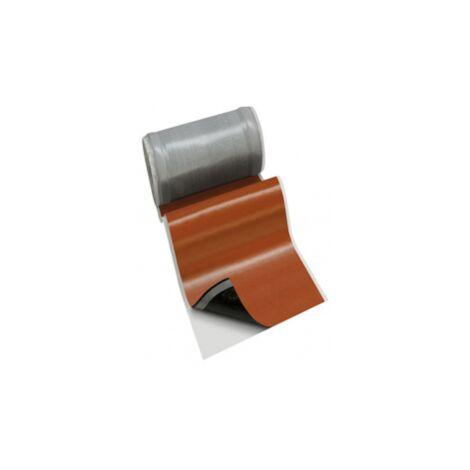 Rouleau flexible Wakaflex® 28 pour abergement Monier rouge sienne (rouleau 5m) Monier
