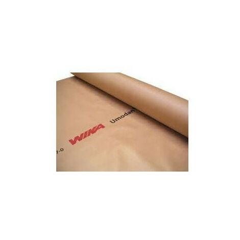 Rouleau frein vapeur UMODAN film cellulosique sous-dalle soudable à chaud - rouleau(x) de 130m²
