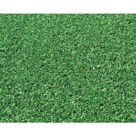Rouleau gazon artificiel en 100 % polypropylène coloris vert - Dim : 4m x 25m- PEGANE -