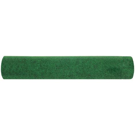 Rouleau gazon artificiel en polypropylène coloris vert - Dim : 4m x 50m- PEGANE -