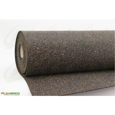 Rouleau isolant liège et caoutchouc 70/30 NOVAFLEX AESOUND - 30% liège - 70% caou. épaisseur 2mm | 2mm - 10 m²