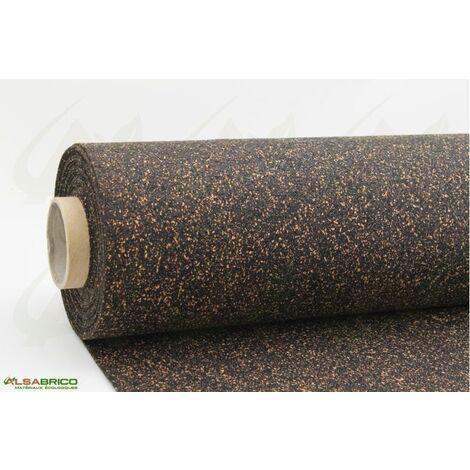 """main image of """"Rouleau isolant liège et caoutchouc 70/30 NOVAFLEX AESOUND - 30% liège - 70% caou. épaisseur 6mm   5m x 1m = 5m²"""""""