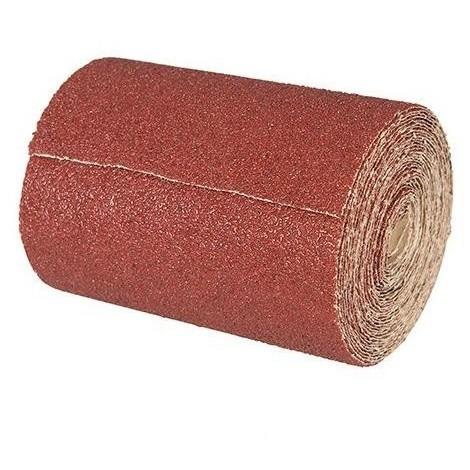 Rouleau papier abrasif corindon 115 mm x 50 M Grain 40 - 691291 - Silverline