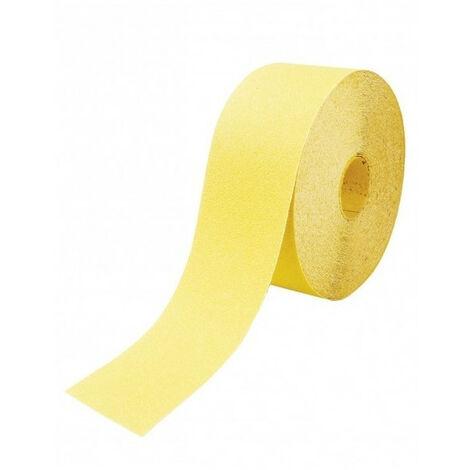 Rouleau papier corindon jaune - plusieurs modèles disponibles