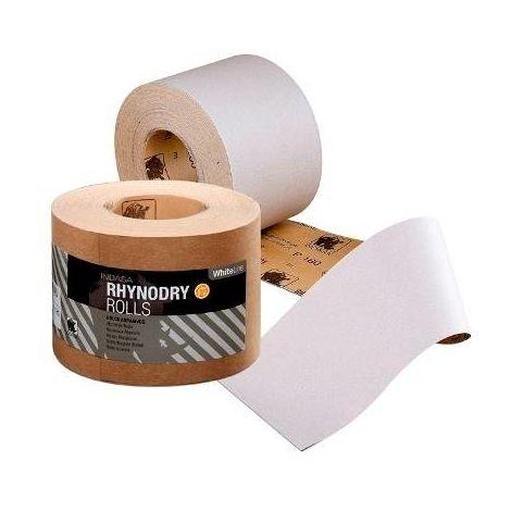 Rouleau Papier de Verre 100 mm / 50 m Rhynalox-dry Indasa