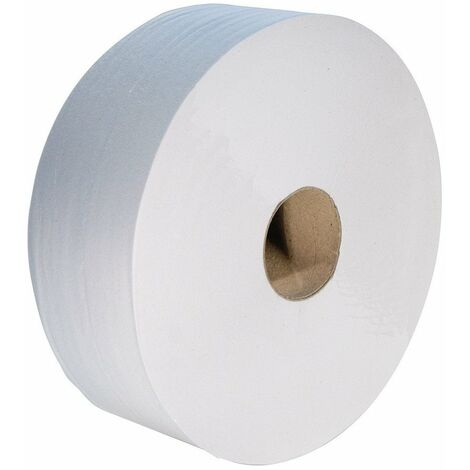 Rouleau papier toilette blanc - MP Hygiène