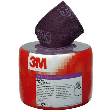 3M Scotchbrite Papier de finition 150X115MM AVFN
