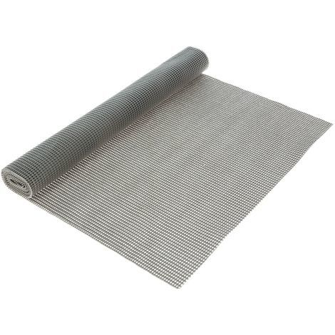 Rouleau tapis de salle de bain Anti-dérapant - 150 x 50 cm - Gris ...