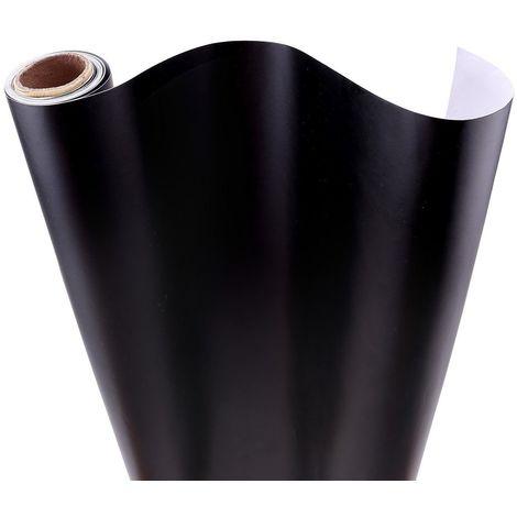 Rouleaux Adhesifs Noir Pour Meuble 45x200cm Film Adhesifs Decoratifs Pour Meuble