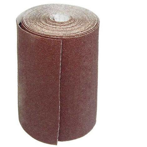 Rouleaux de papier de verre MioTools, corindon normal, 93 mm x 5 m, G40–240