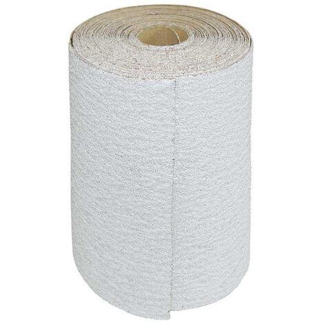 Rouleaux de papier de verre MioTools, corindon normal avec stéarate, 93 mm x 5 m, G40–400