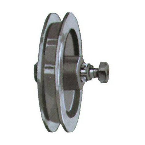 Rouleaux de portail coulissant 330455 120mm