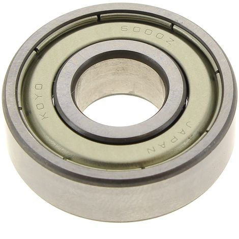 Roulement 6000z 10x26x8mm pour Rabot Bosch, Taille-haie Ryobi, Debroussailleuse Ryobi, Seche-linge Miele, Seche-linge Rosieres, Seche-linge Indesit, L