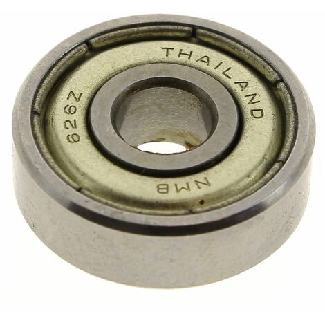 Roulement 626z 6x19x6mm pour Taille-haie Ryobi, Ponceuse Ryobi, Perceuse A.e.g, Perforateur A.e.g, Taille-haie Metabo, Meuleuse Metabo, Ponceuse Metab