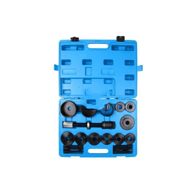 Thsinde - Roulement de roue Moyeu de roue Outil 19 pièces Jeu pour Montage et Démontage Extracteur de roulement de roue Outil de démontage de