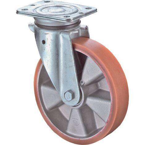 Roulette 125mm LB500.B90PlattePolyure GussKL LB500.B90.125