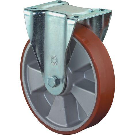 Roulette 200mm L610.B90 plaque Polyure GussKL L610.B90.200