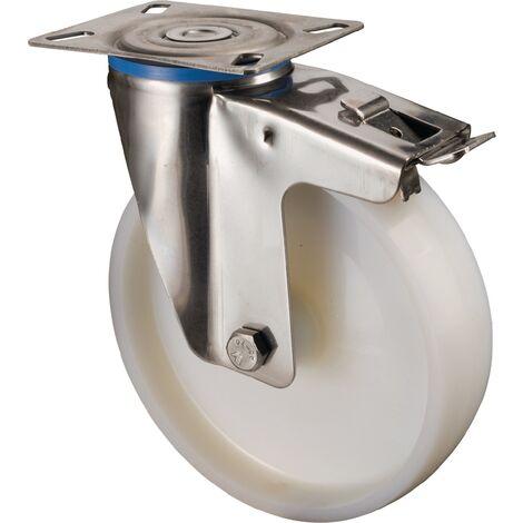 Roulette avec frein 200 mm 300 KG Tragpour 137L