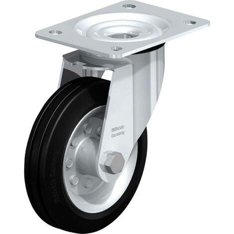Roulette caoutchouc diamètre 150mm Blickle LE-VE 150R
