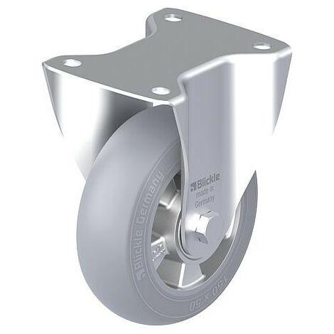 Roulette fixe BLICKLE tole acier B-ALES 150K-SG diam.-roue 150mm