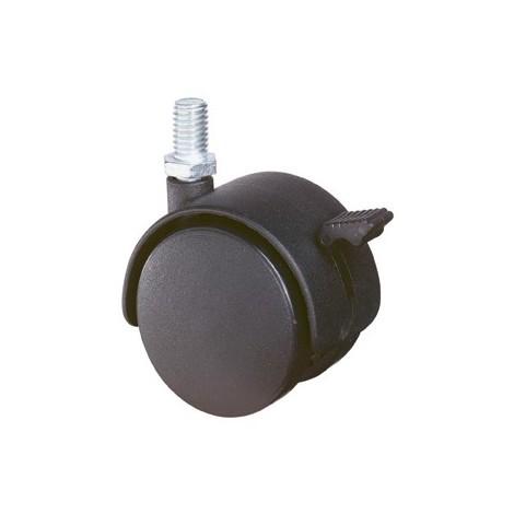 Roulette plastique F85.040.G08