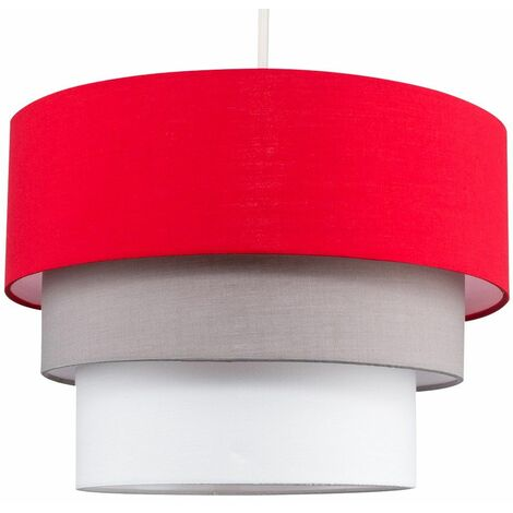 Round 3 Tier Ceiling Pendant Lamp Light Shade