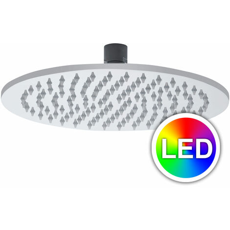 Round 300 mm Led Shower Head