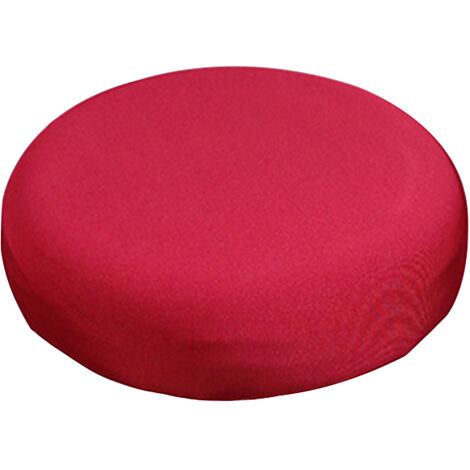 Round Bar Stool Cover Stretch Removable Elastic Chair Pad Protector