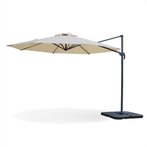 Round cantilever parasol - 350cm - Biscarosse