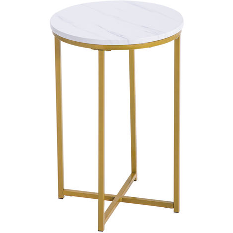 Round Coffee Table Bed Sofa Side Table End Table