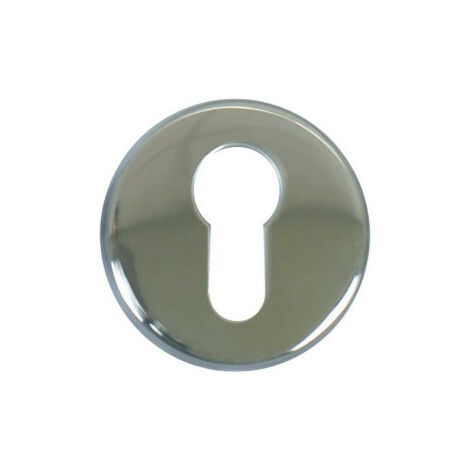 Round cylinder roses - stainless steel 304 bright x2