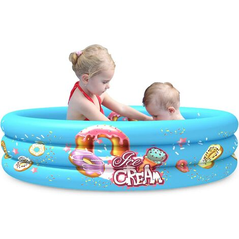 """main image of """"Round Kids Swimming Pool Inflatable Padding Pool 45 * 10 in"""""""