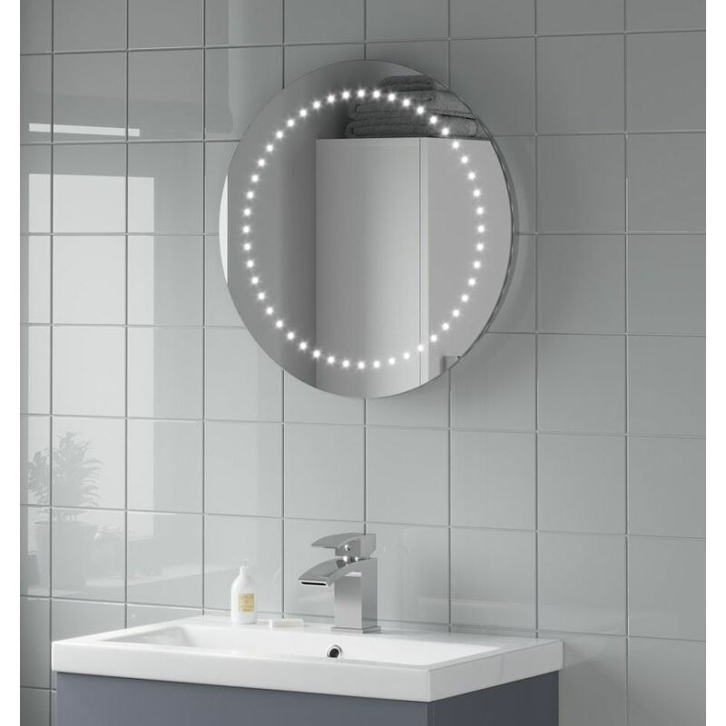 Bathroom Mirror With Lights Battery
