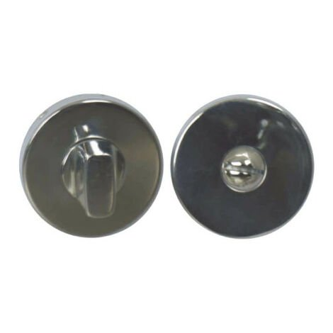 Round lockable roses without sight glass - stainless steel 304 bright