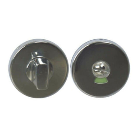 Round locking roses with sight glass - stainless steel 304 bright