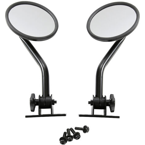 """main image of """"Round Mirrors Side Rear View Mirrors 4x4 Off-road Mirror A Column Reversing Mirror Fit for Jeep Wrangler TJ LJ YJ JK"""""""