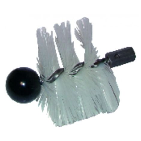 Round roller brush cmv nylon ø 139mm