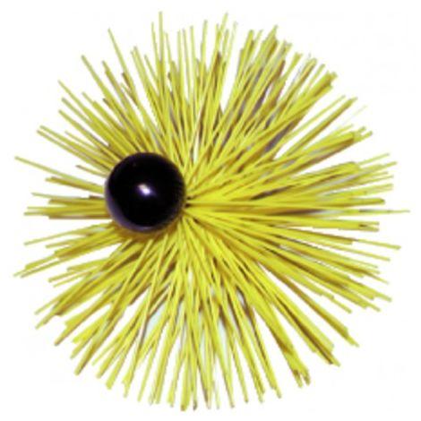 Round roller brush rilsan with ball ø 200mm